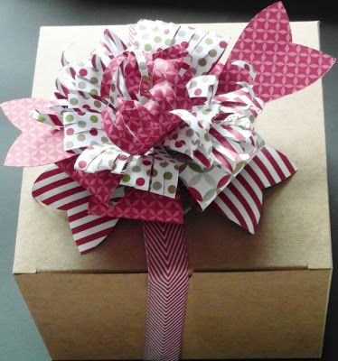 37 best Die - Gift Bow images on Pinterest | Gift bows, Big shot ...