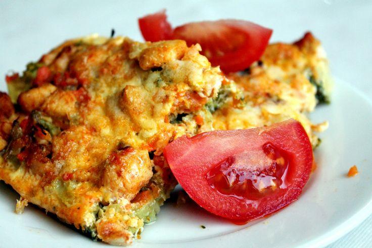Famózna FIT večera: Zapekaná brokolica s kuracím mäskom.