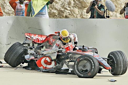 Hamilton...Bahrain   2008