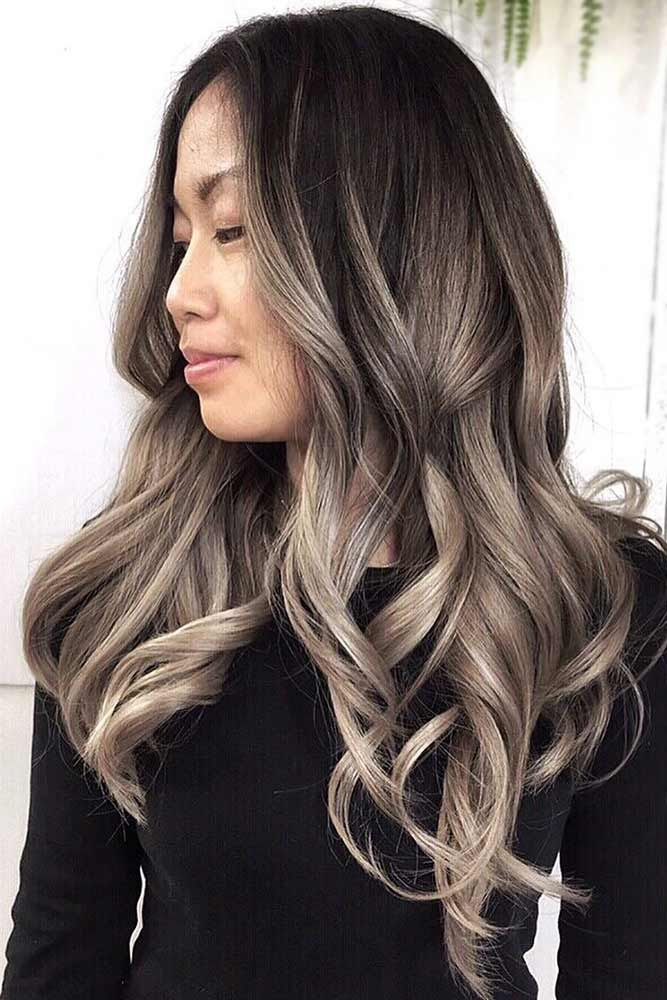 Dark Ash Blonde Ombre #blondehair #brunette #ombre ★ Ash blonde hair color is designed for ladies who want to rock the l…
