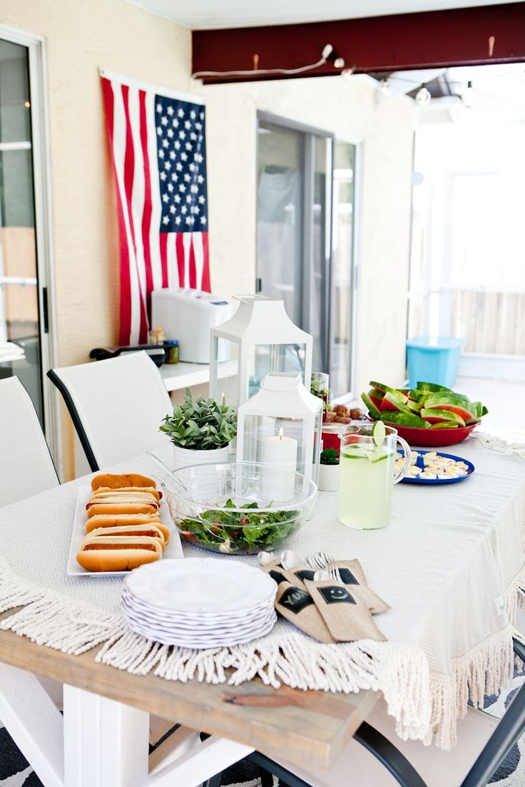 Who's hosting a backyard July 4 party?  Check out our tips for the perfect patio party set up on HSN Blogs!