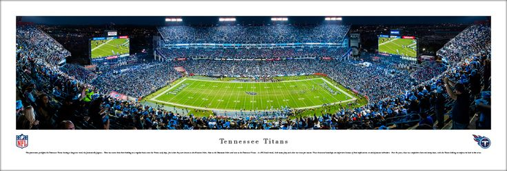 Tennessee Titans Panoramic Picture - Nissan Stadium - Unframed $29.95