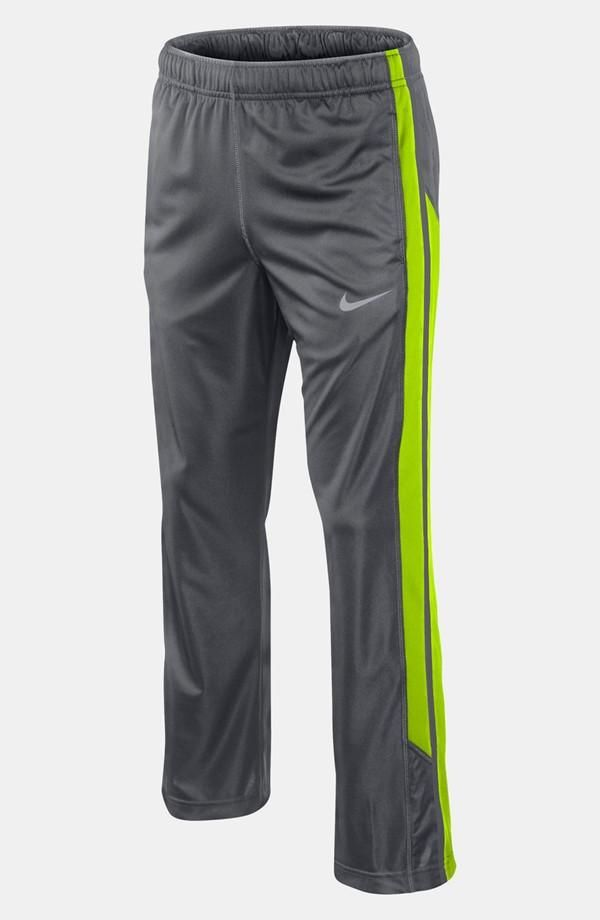 Neon striped sport pant for boys