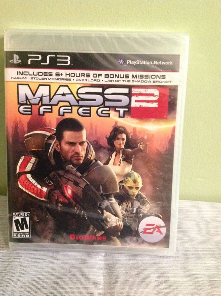 """New Sony Play Station 3 """"Mass Effect 2"""" - 2011 Factory Sealed (M 17 )"""