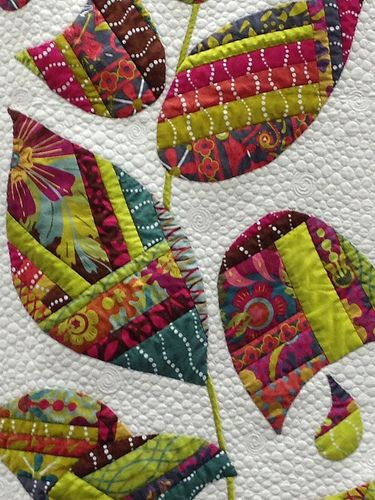 Quilt Market Spring 2013. This is an idea for using made fabric!