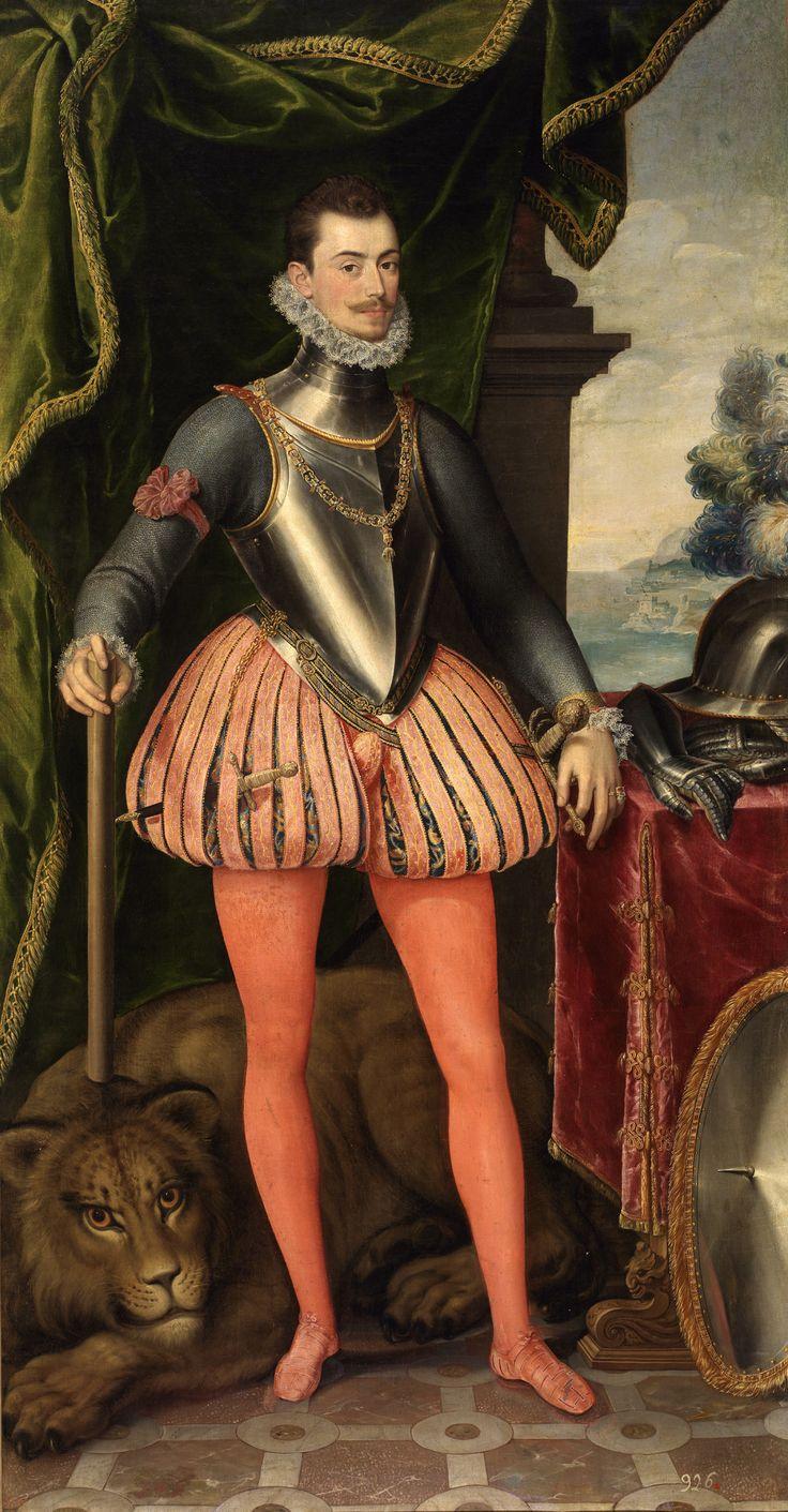Don Juan d'Austria (1547-1578) by Juan Pantoja de la Cruz, circa second half of 16th century