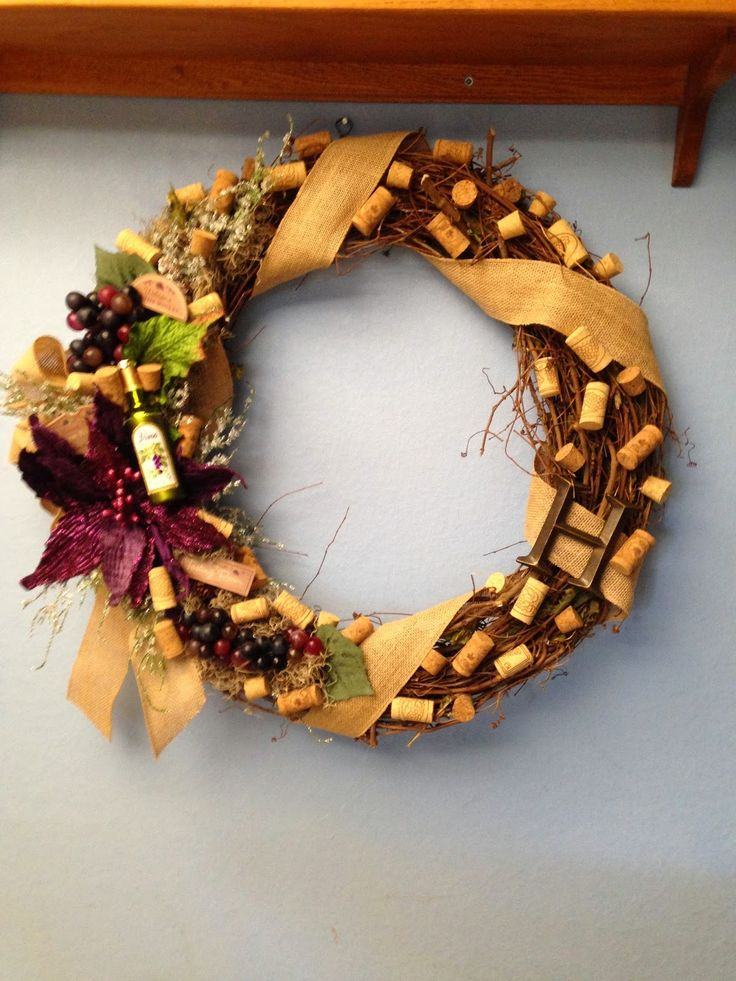 cricut craftin grammy: Wine wreath