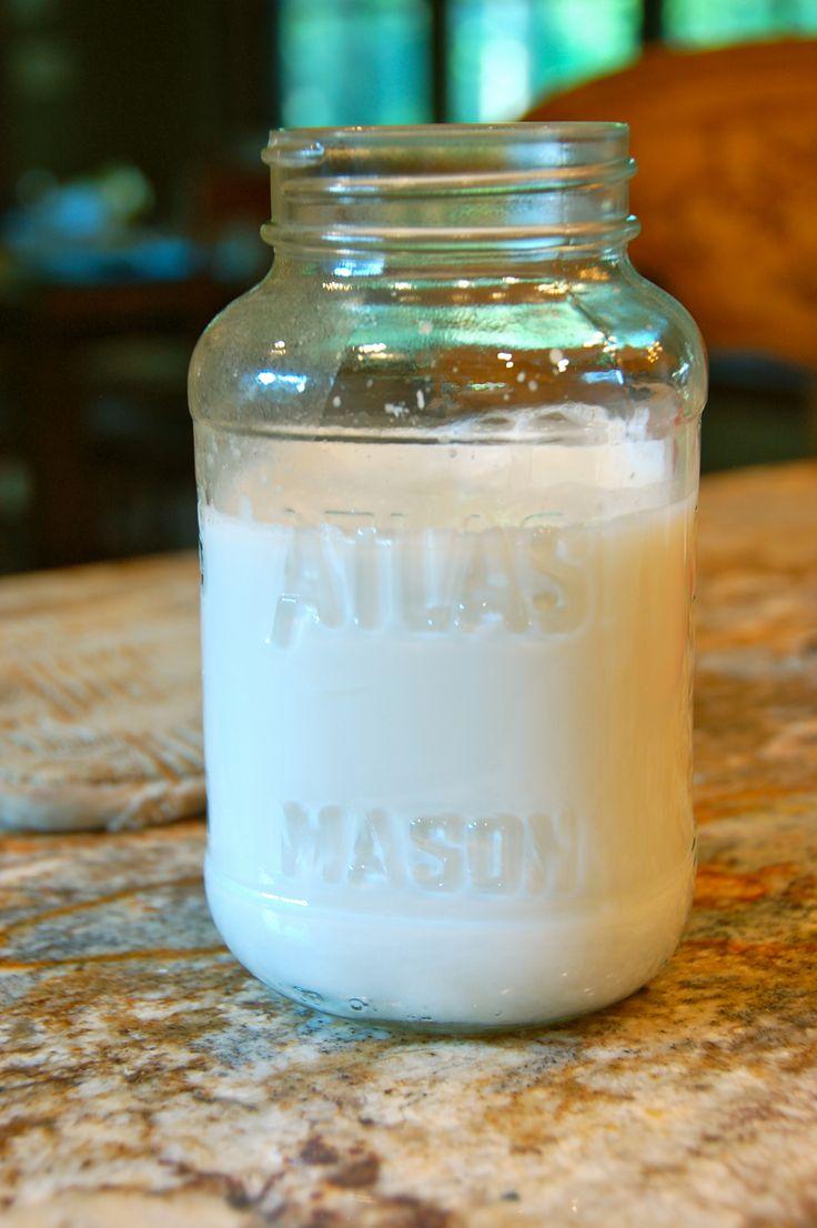 homemade coconut milk | Healthy Food | Pinterest