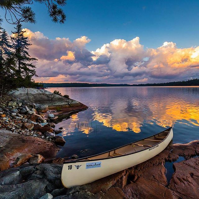 🇨🇦 Chiniguchi Lake, Ontario. Image by team / @robnelson4 #ImagesofCanada Curator: @mikecleggphoto #IOC_robnelson4