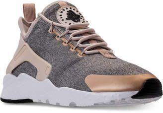 Nike Women's Air Huarache Run Ultra Se Running Sneakers from Finish Line #running #nike http://feedproxy.google.com/fashionshoes11