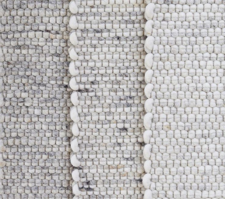 The quality of the wool used, the way it is felted and the construction of the weave is what makes a textured rug go the distance.  #buyonce #buywell