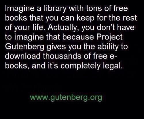 It really is legal. Gutenberg specializes in books in the public domain, some of which are over 250 years old.