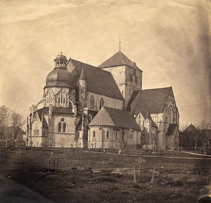 Domkirken i Trondheim. 1857