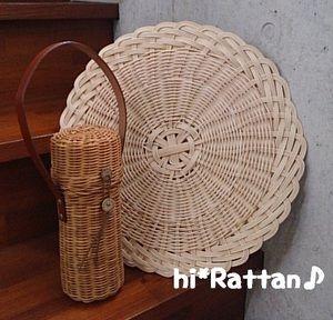 籐カゴ(ё_ё)hi*Rattan♪:HATAさん教室
