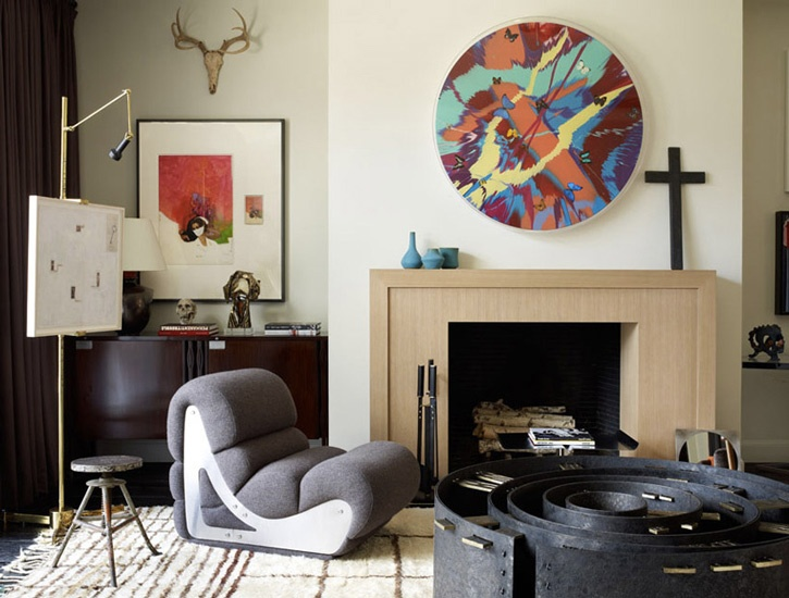Interior Designer Robert Stilin Love The Round Abstract