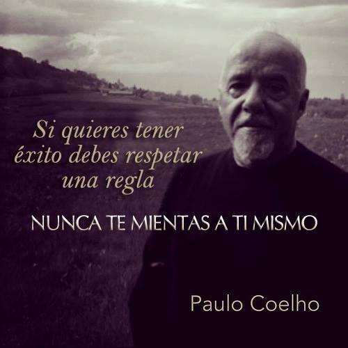 Si quieres tener éxito debes de respetar una regla... - @Paulo Fernandes Coelho | www.comunidadcoelho.com #PauloCoelho #Éxito #ComunidadCoelho