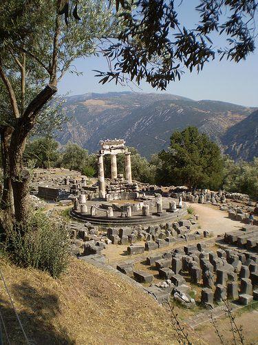 Temple of Diana, Delphi, Greece