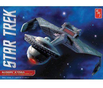 1/537 Star Trek Klingon Ktinga by Round 2 LLC @ niftywarehouse.com #NiftyWarehouse #StarTrek #Trekkie #Geek #Nerd #Products