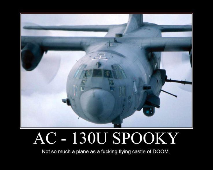 C-130 Spectre Gunship | This: C 130 Spectre Gunship