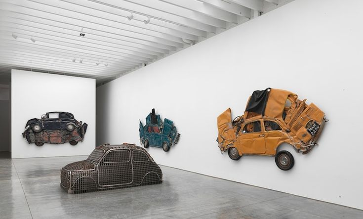 FLATTENED FIATS BY RON ARAD | THIS IS MY SUIT http://thisismysuit.com
