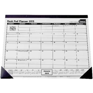 Sasco Desk Pad Planner 2015 | Officeworks