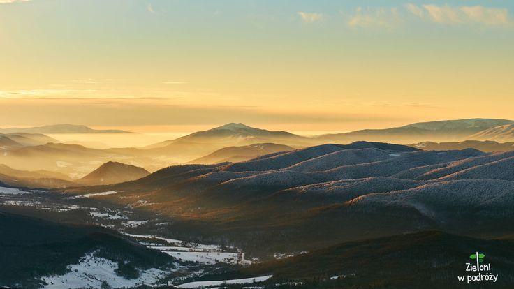 Winter is finally here. Bieszczady Mountains, Poland.