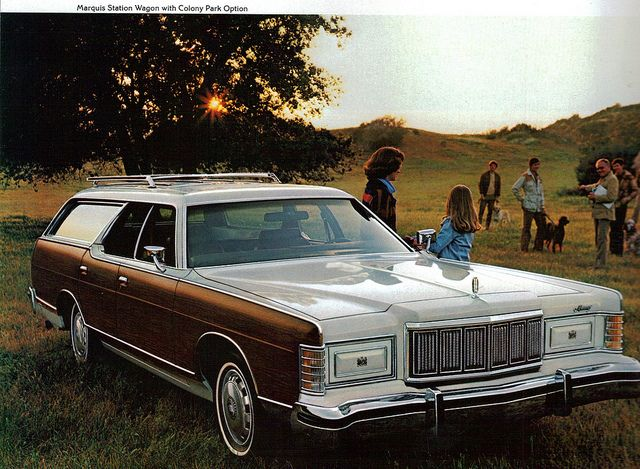 1978 Mercury Marquis Station Wagon with Colony Park Option by coconv, via Flickr