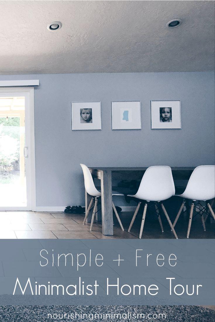 Simple Free Minimalist Home Tour Crystal Minimalist Home