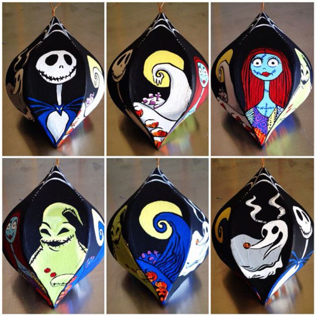 25+ Best Ideas About Nightmare Before Christmas Ornaments