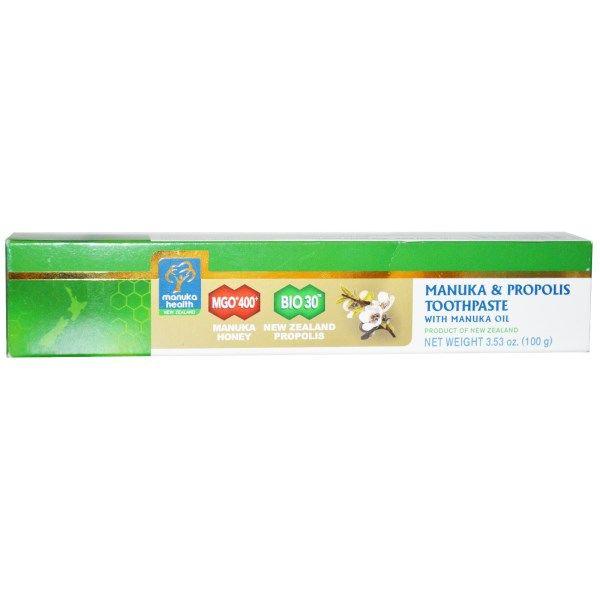 Manuka Health, Зубная паста с маслом манука и прополисом, 3,53 унции (100 г)