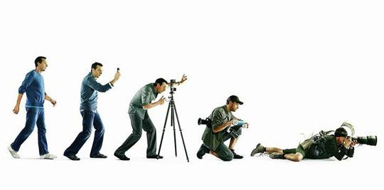 8.  Go outside & shoot photos rather than spending hours a day on photography forums