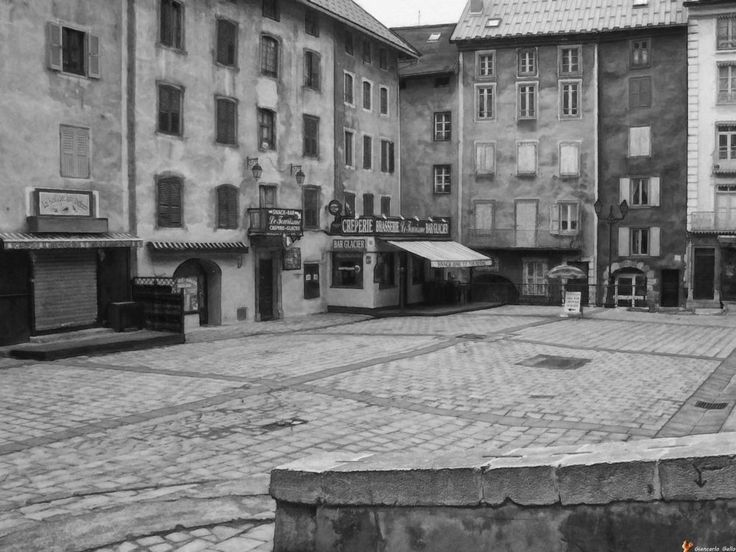 nobody in the square by Giancarlo Gallo