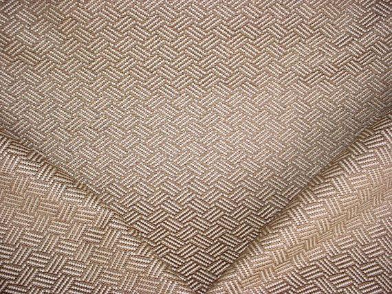 1-3/8 Yards Osborne & Little / Lorca MLF2246 Vanini - Luxurious Crosshatch Transitional Linen Upholstery Drapery Fabric - Free Shipping