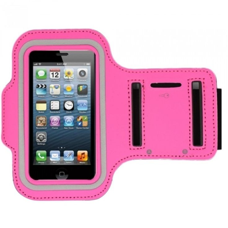 Insten Premium Sport Exercise Running Armband Phone Case Cover With Key Pocket For Apple iPhone 5/ 5S/ SE #1733711