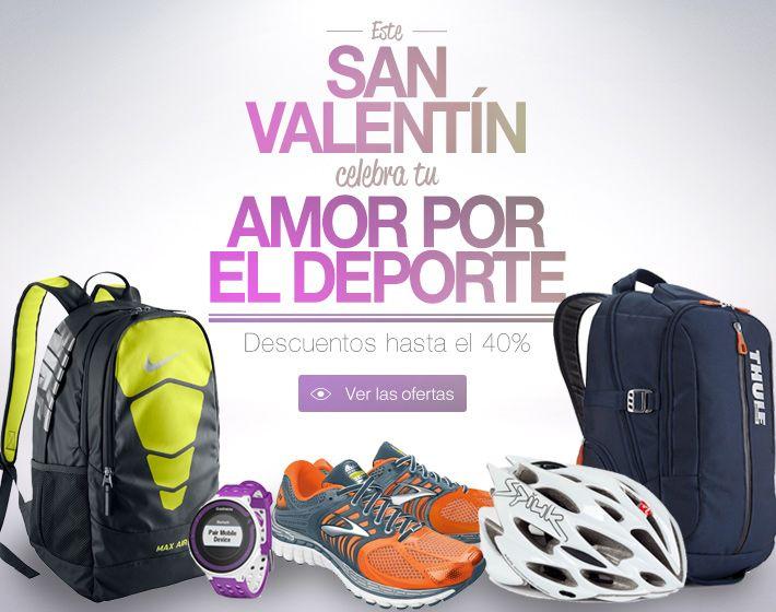 Esta semana, celebra tu amor por el deporte en #deporvillage con descuentos exclusivos de hasta el 40%. #sport #love #sanvalentin #amor #deporte