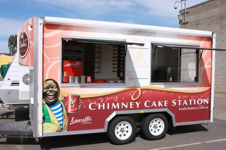 Bodri's Bakery & Cafe - Our Chimney Cake Station
