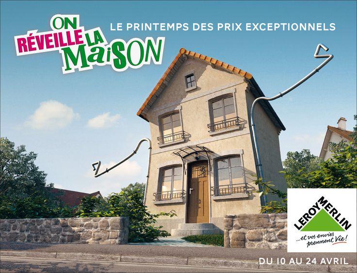 Collection Maison Leroy Merlin #7: On Réveille La Maison. Merlin