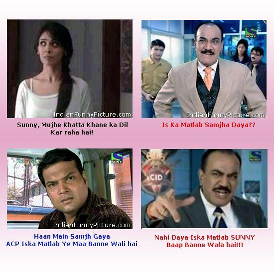 ACP Pradyuman, Daya – CID Jokes ~ FUNBuddee