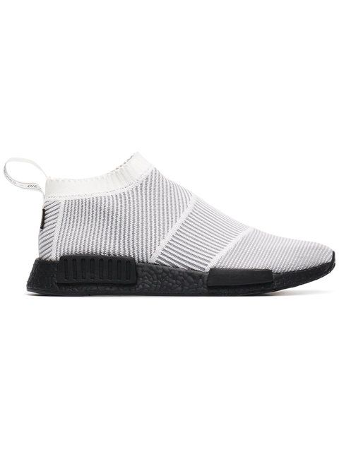 Adidas White Gore Tex NMD sneakers