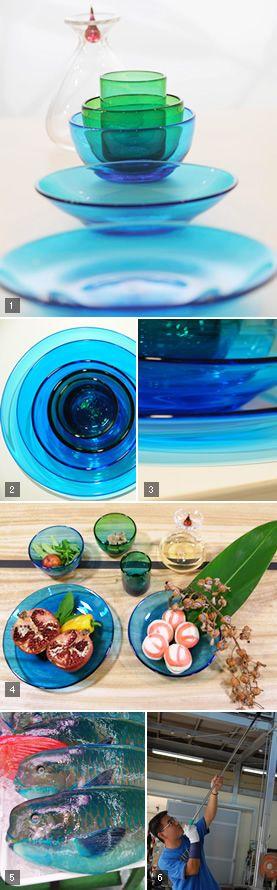 Okinawa Glass. The Colors are like Okinawan Ocean......