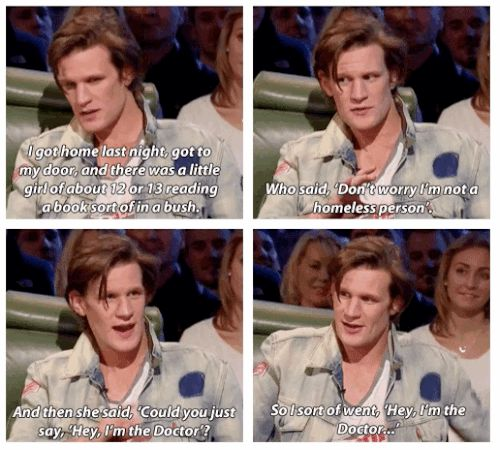 As if we need a list to tell us how amazing Matt Smith is. :). | 31 Times Matt Smith Was The Most Perfect Human Being Ever
