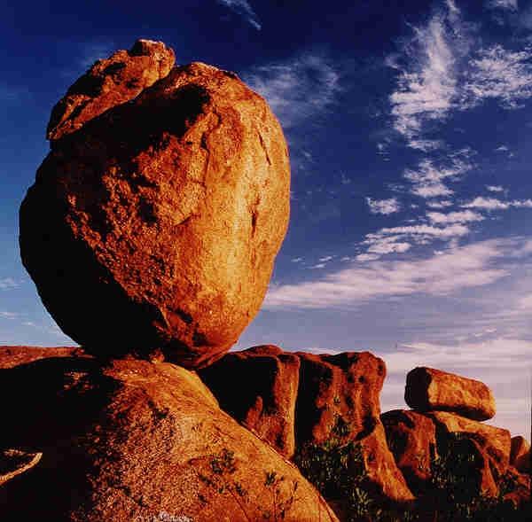 'The Devil's Marbles' Northern Territory, Tennant Creek, Australia,