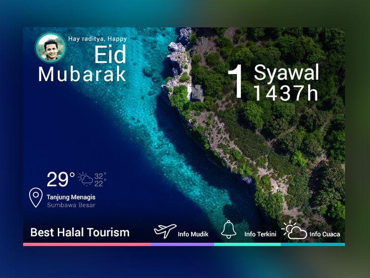 Eid Mubarak 1437h by Raditya Maulana Anuraga