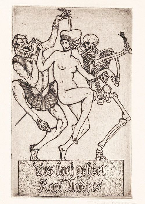 exlibris of karl andres
