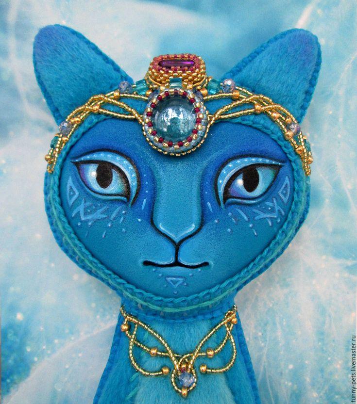 Купить Игрушка Кошка. Атлантида.(резерв) - кошка, тотем, авторская игрушка, кот игрушка