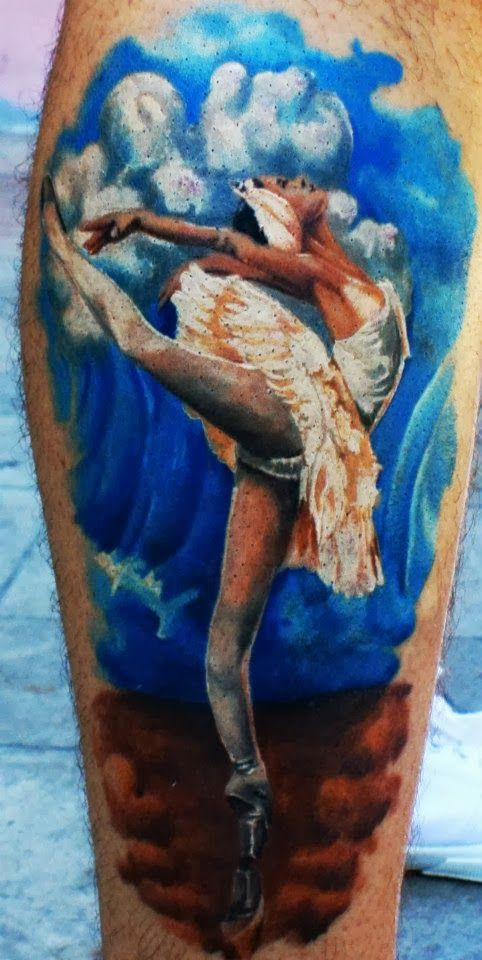 Ballet Tattoo By Reşat Gül