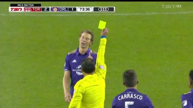 #MLS  YELLOW CARD: Jonathan Spector impedes Jonathan Osorio