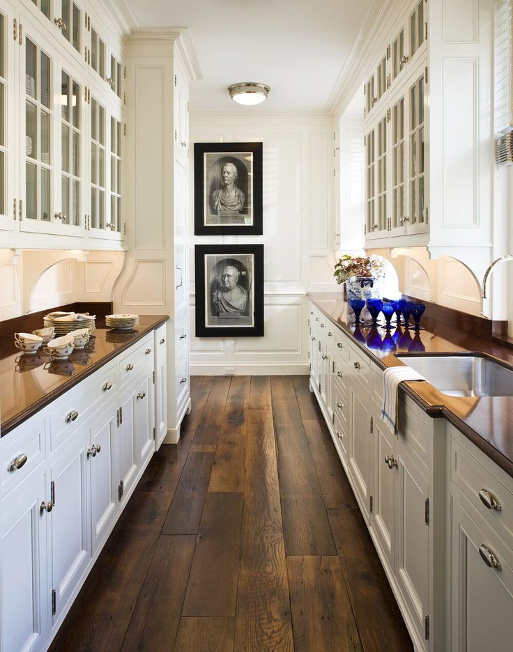 butlers pantry | Galley kitchen design, Small apartment ...