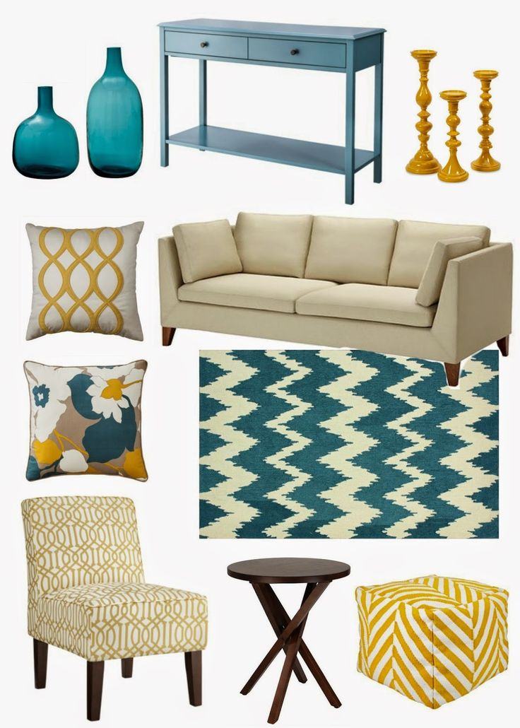 Best 25+ Yellow gray turquoise ideas on Pinterest Gray turquoise - teal living room ideas