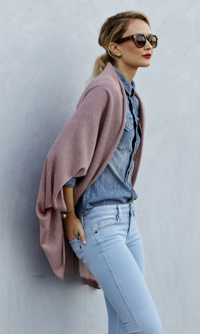 Lightweight and soft cocoon kimono wrap.: